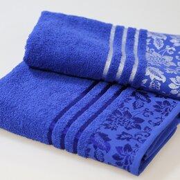 Полотенца - Комплект из 2х махровых полотенец, 0
