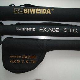 Прочие принадлежности - Тубусы от телескопических спиннингов SHIMANO и SIWEIDA, 0