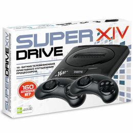 Видеокарты - 16bit Super Drive 14 (160-in-1) Black*, 0