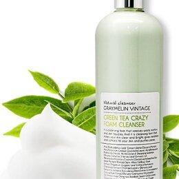 Очищение и снятие макияжа - Пенка для умывания Зеленый чай GRAYMELIN Green Tea Crazy Foam Cleanser, 0