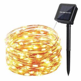 Уличное освещение - Светодиодная гирлянда на солнечной батарее, 0