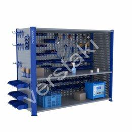 Стеллажи - Складской производственный стеллаж KronVuz CT H3…, 0