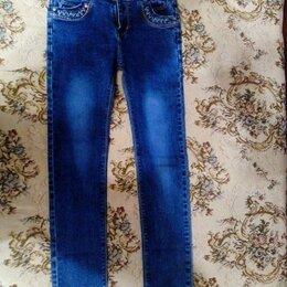 Джинсы - Новые джинсы на девочку 134-140см, 0