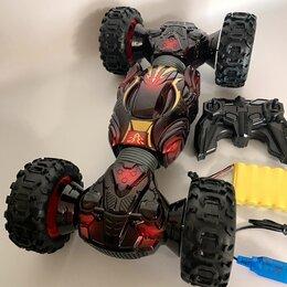 Радиоуправляемые игрушки - Машинка перевертыш вездеход на радиоуправлении, 0