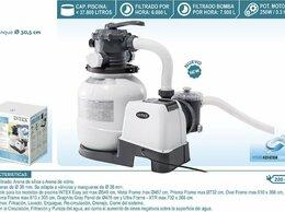 Фильтры, насосы и хлоргенераторы - Фильтр-насос песочный 6000 л/ч , масса песка…, 0