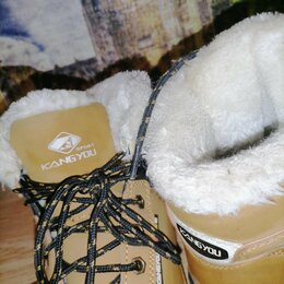 Ботинки - Ботинки зимние для мальчика , 0