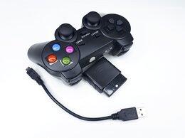 Рули, джойстики, геймпады - Геймпад беспроводной 3в1 - PS2, PS3, ПК, 0