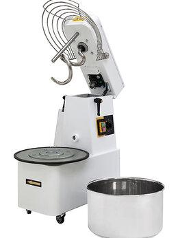 Тестомесильные и тестораскаточные машины - Тестомес спиральный Prismafood ITR 50, 0