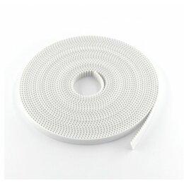 Расходные материалы - Лента зубчатая GT2-10mm, белая, 1 метр  с…, 0