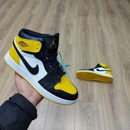 Кроссовки и кеды - Кроссовки Nike Air Jordan 1 Retro Yellow , 0