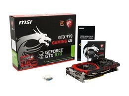 Видеокарты - Видеокарта MSI GeForce GTX 970 Gaming 4G, 0
