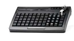 Принтеры чеков, этикеток, штрих-кодов - Программируемая клавиатура АТОЛ KB-60-KU черная…, 0