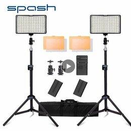 Световое и сценическое оборудование - Светодиодные студийные лампы Spash TL-160S, 0