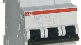 Защитная автоматика - Автомат 3-полюсный SH203L C20 ABB 2CDS243001R0204, 0