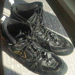 Аксессуары и принадлежности - Обувь для занятия боксом (боксерки) demix, 0