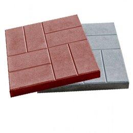 Тротуарная плитка, бордюр - Тротуарная плитка бетонная 400.400«8-кирпичей», 0