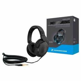Оборудование для звукозаписывающих студий - Sennheiser HD 200 PRO - наушники, 0