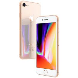 Мобильные телефоны - 🍏 iPhone 8 128Gb gold (золотой) , 0