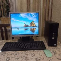 Настольные компьютеры - Системник i3-6100 озу-8Гб, 0