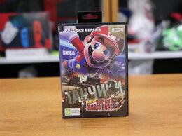 Игры для приставок и ПК - Картридж Sega марио + танчики, 0
