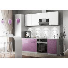 Мебель для кухни - Модульный кухонный гарнитур «Олива» 2100 (сирень…, 0