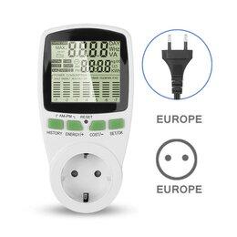 Измерительные инструменты и приборы - Ваттметр счетчик энергии, тестер, мультиметр, 0