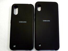 Чехлы - Чехол Silicone Case Samsung A01/A10., 0