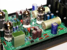 Усилители и ресиверы - Ламповый фонокорректор (набор КИТ), 0