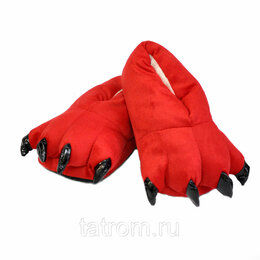 Кигуруми - Тапочки для кигуруми красные, 0