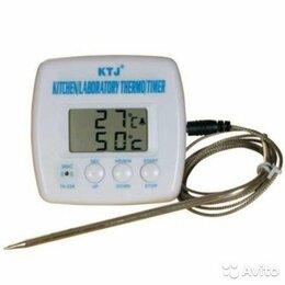 Термометры и таймеры - Термометр с щупом и таймером для гриля Кухонный, 0