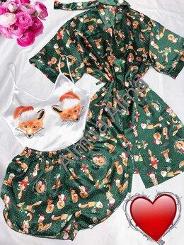 Домашняя одежда - Комплект пижама и халат, 0