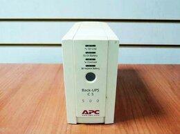 Источники бесперебойного питания, сетевые фильтры - Источник бесперебойного питания автономный APC Bac, 0