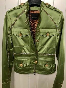 Жакеты - Укороченная куртка-жакет Gizia с кристаллами…, 0