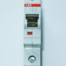 Электрические щиты и комплектующие - Автомат ABB S201 25А 2CDS251001R0254, 0