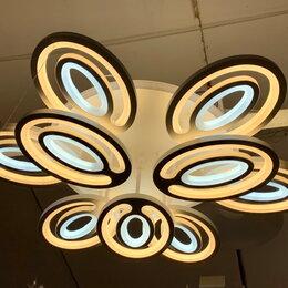Люстры и потолочные светильники - Светильник LED потолочный 8010/6+3 360 W с ПДУ, 0