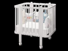 Кровати - Детская кроватка Оливия белый, 0