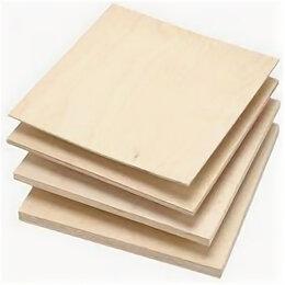 Древесно-плитные материалы - Фанера (1,525х1,525) х 21мм 4/4, 0