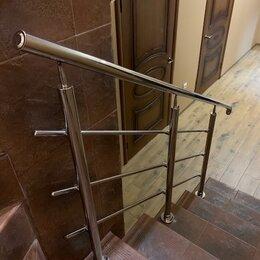 Лестницы и элементы лестниц - перила из нержавейки, 0
