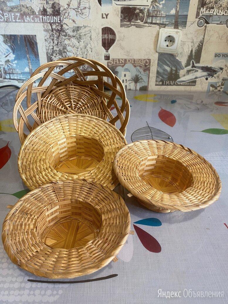 Корзинка, шляпки плетённые для кукол, декора по цене 50₽ - Рукоделие, поделки и сопутствующие товары, фото 0