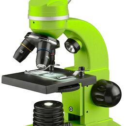 Микроскопы - Микроскоп Bresser Junior Biolux SEL 40–1600x, зеленый, 0