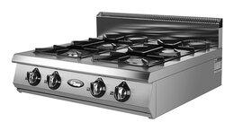 Промышленные плиты - Плита газовая Grill Master Ф4ПГ/800, 0