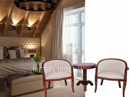 Стулья, табуретки - Чайная группа А-10. 2 деревянных чайных кресла и…, 0