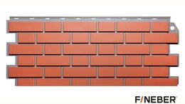 Фасадные панели - Фасадные панели Fineber Дачный Кирпич клинкерный, 0