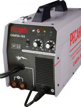 Сварочные аппараты - Сварочный полуавтомат Ресанта САИПА-165, 0