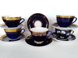 Кружки, блюдца и пары - Чайная пара Кобальт ЛФЗ, 0