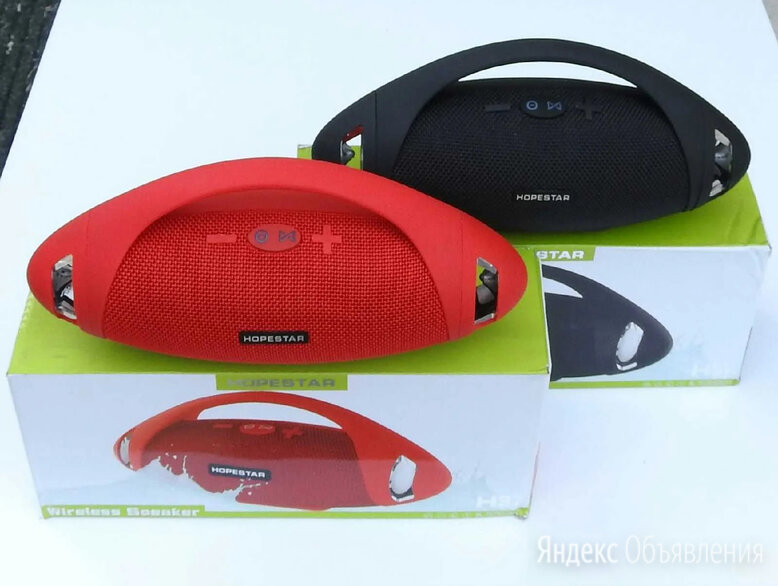 Колонка Bluetooth портативная Hopestar H37 по цене 1300₽ - Портативная акустика, фото 0