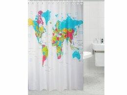 Шторы и карнизы - Rpe-730023 штора для ванной комнаты, 0