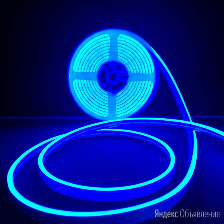 Гибкий неон 12в синий по цене 200₽ - Светодиодные ленты, фото 0