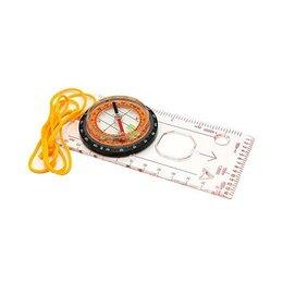 Компасы - Компас жидкостный Kromatech 42 мм, для карт, с линейкой и лупой 2x, 0