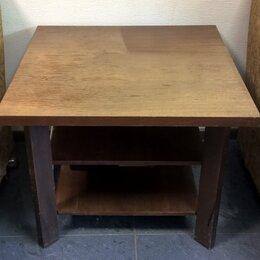 Столы и столики - Столик журнальный деревянный, квадратный…, 0